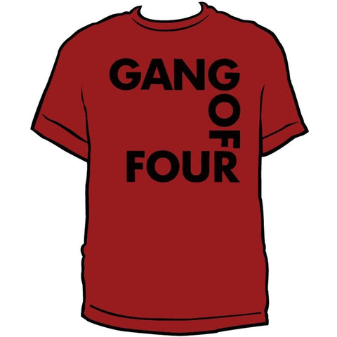 Gang Of Four Square Logo Men's T-Shirt