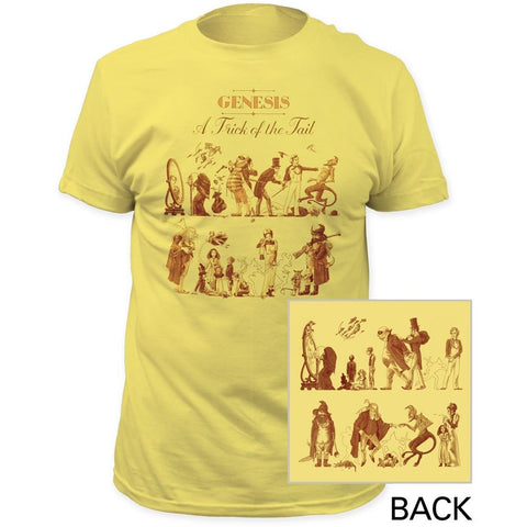 Genesis A Trick Of The Tail Men's Fitted T-Shirt