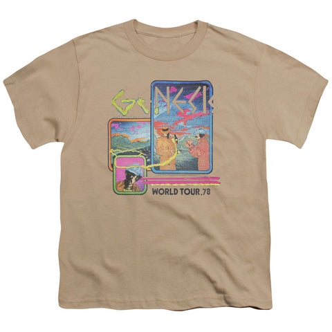 Genesis Special Order World Tour 78 Youth 18/1 100% Cotton Short-Sleeve T-Shirt