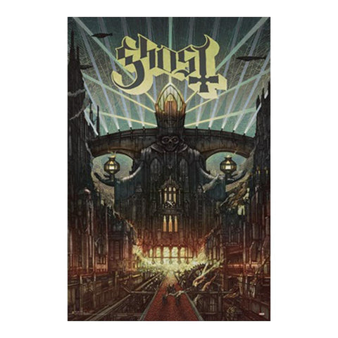 Ghost Cityscape Poster
