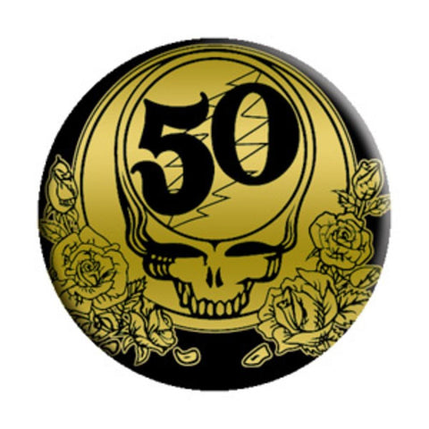 Grateful Dead 50th Anniversary Button