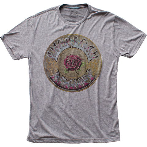 Grateful Dead American Beauty fitted tri-blend tee