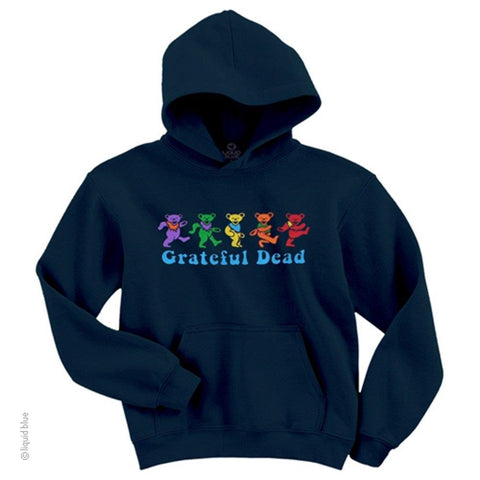 Grateful Dead Dancing Bear Men's Pullover Hoodie