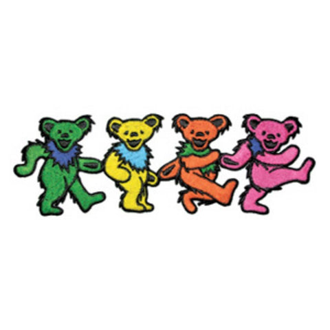 Grateful Dead Dancing Bears Patch