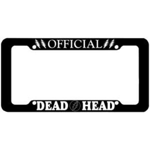 Grateful Dead Dead Head License Plate