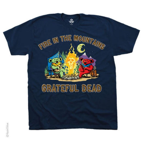Grateful Dead Fire In The Mountain Men's T-Shirt