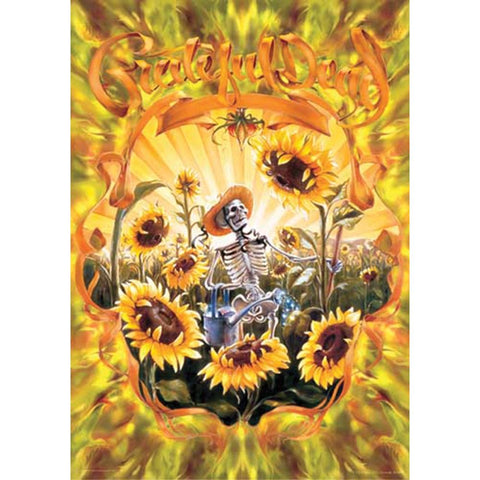 Grateful Dead Skeleton Grower Poster