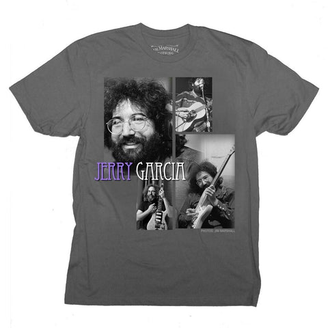 Grateful Dead Jerry Garcia Playing Men's T-Shirt