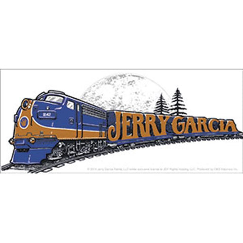 Grateful Dead Jerry Garcia Train Sticker