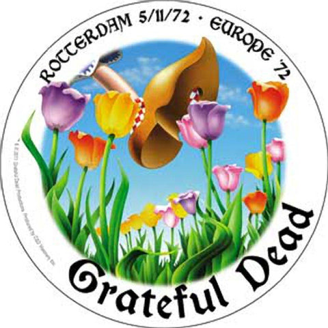 Grateful Dead Rotterdam '72 Sticker