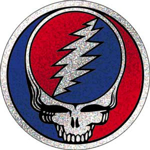 Grateful Dead Steal Your Face Button