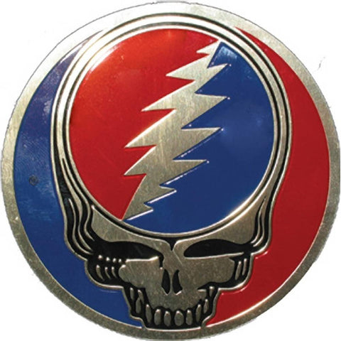 Grateful Dead Steal Your Face Large Metallic Sticker