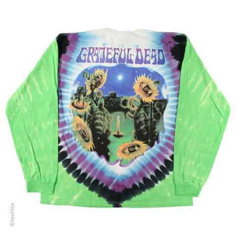 Grateful Dead Sunflower Terrapin Men's Long Sleeved T-Shirt
