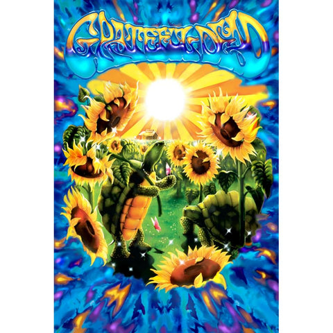 Grateful Dead Terrapin Sunflower Poster