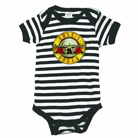 Guns N Roses Bullet Logo One-Piece Bodysuit