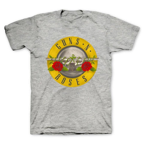 Guns N Roses Bullet on Heather Men's T-Shirt