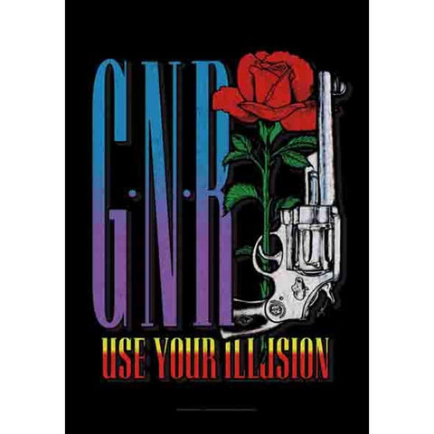 Guns N Roses Gun Fabric Poster