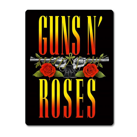 Guns N Roses Polar Blanket With Sherpa Lining