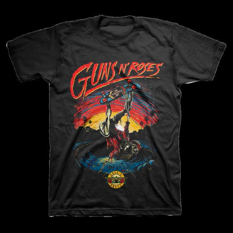 Guns N Roses Skate Men's T-Shirt
