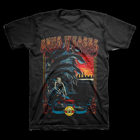 Guns N Roses Surf Men's T-Shirt