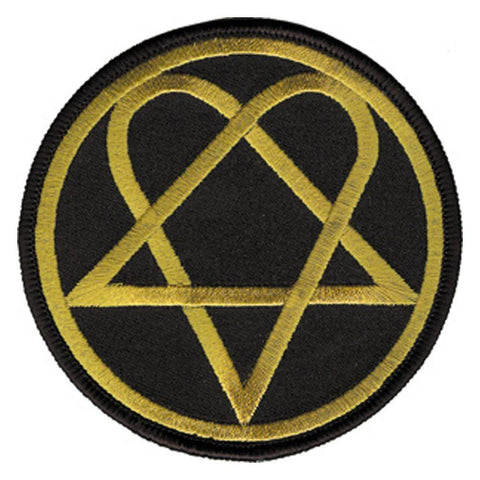 HIM Heartagram Embroidered Patch