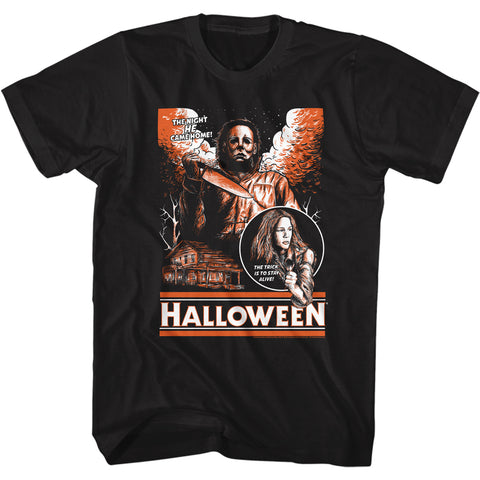 Halloween Special Order Sketchy & Orange Adult S/S T-Shirt