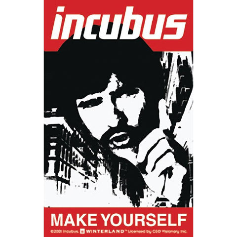 Incubus Make Yourself Sticker