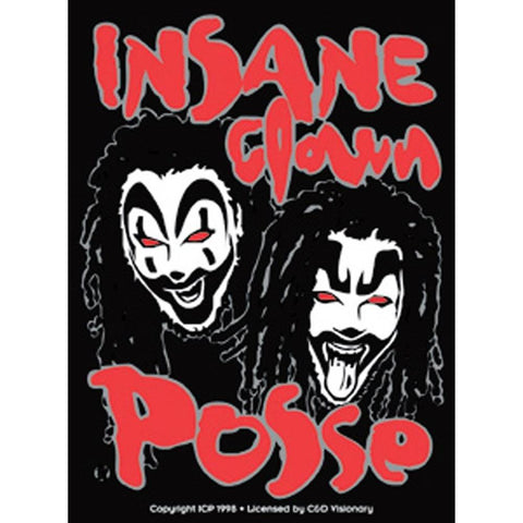 Insane Clown Posse Band Logo Sticker
