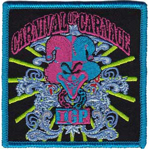 Insane Clown Posse Carnival of Carnage Rays Patch