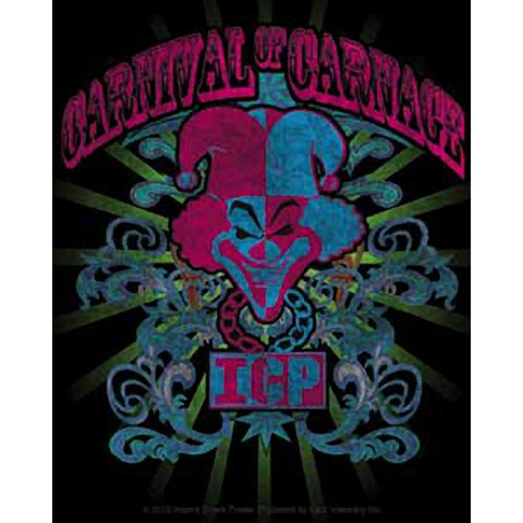 Insane Clown Posse Carnival of Carnage Rays Sticker