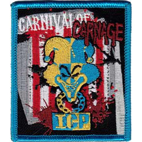 Insane Clown Posse Carnival of Carnage Stripes Patch