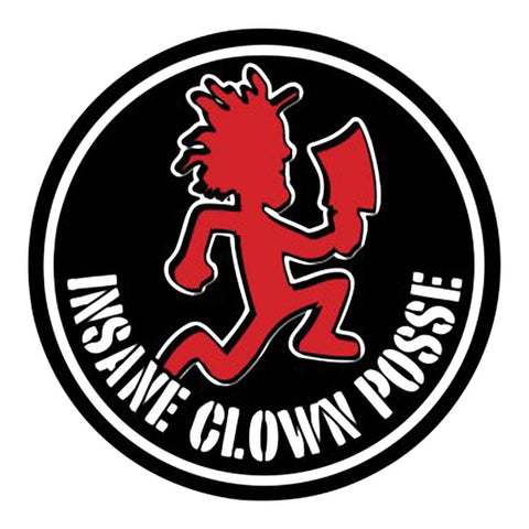 Insane Clown Posse Hatchet Logo Sticker