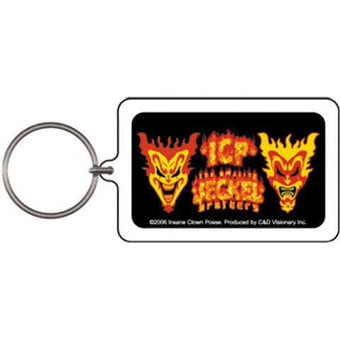 Insane Clown Posse Jeckel Brothers Lucite Keychain