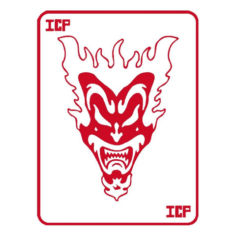 Insane Clown Posse Red Jake Jeckyl Card Rub-On Sticker