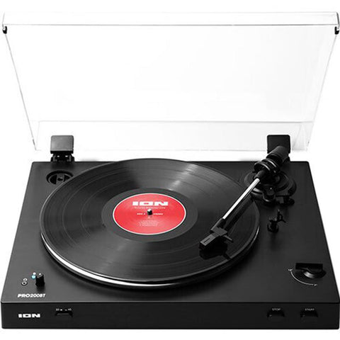 Ion It96 Pro200Bt Turntable Bt Fully Auto Black