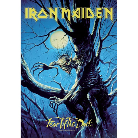 Iron Maiden Fear of the Dark Live Fabric Poster