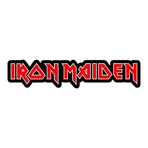Iron Maiden Logo Die Cut Sticker
