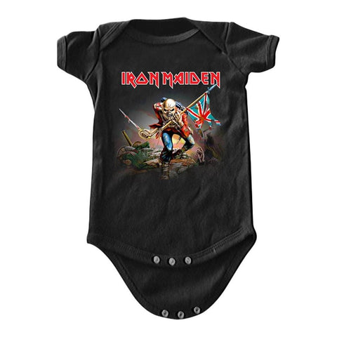 Iron Maiden The Trooper Infant One-Piece Bodysuit