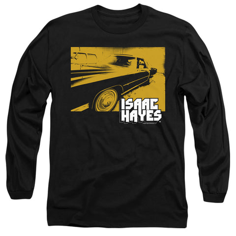 Isaac Hayes Gold Cadillac Men's 18/1 Cotton LS T
