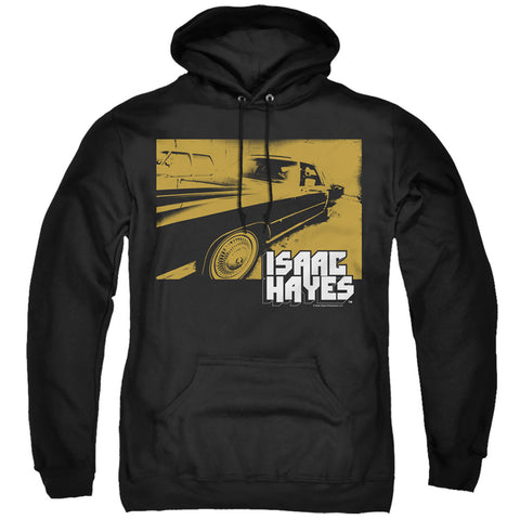 Isaac Hayes Gold Cadillac Men's Pull-Over 75 25 Poly Hoodie