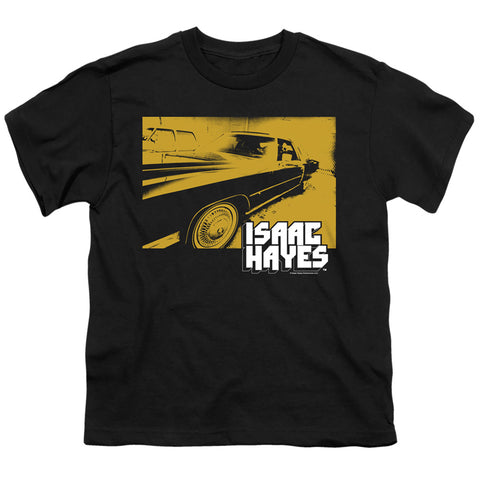 Isaac Hayes Gold Cadillac Youth 18/1 100% Cotton SS T