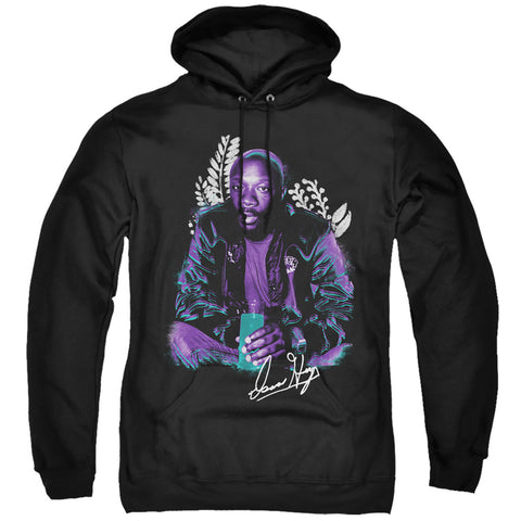 Isaac Hayes Hayes Floral Men's Pull-Over 75 25 Poly Hoodie