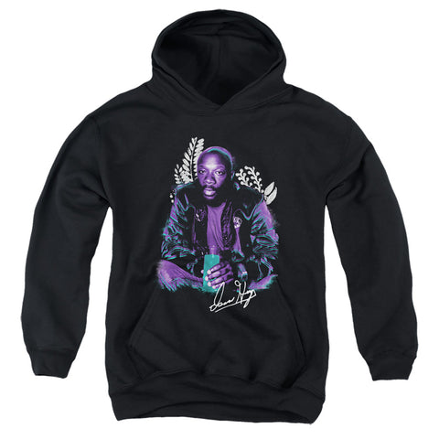 Isaac Hayes Hayes Floral Youth Cotton Poly Pull-Over Hoodie