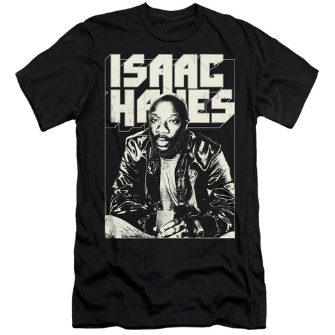 Isaac Hayes Lean In Men's 30/1 Cotton Slim SS T