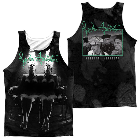 Jane's Addiction Special Order Nothings Shocking (Front/Back Print) Men's Regular Fit 100% Polyester Tank Top