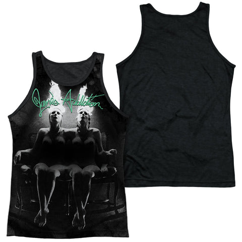 Jane's Addiction Special Order Nothings Shocking Men's Black Back 100% Polyester Regular Fit Tank Top