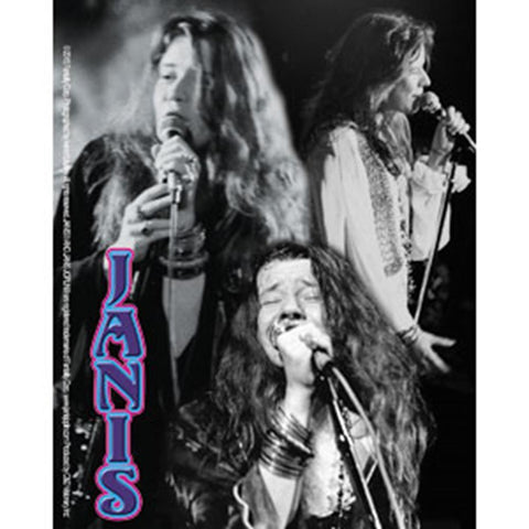 Janis Joplin Collage Sticker