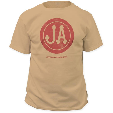 Jefferson Airplane Bark Pigment Dyed Men's T-Shirt