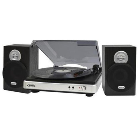 Jensen 3-Speed Stereo Turntable With Stereo Speake