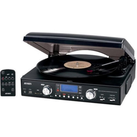 Jensen JTA-460 Turntable (USB AM/FM Receiver)